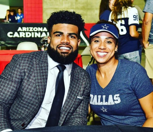Ezekiel Elliott's New Girlfriend is Mama Elliott Approved