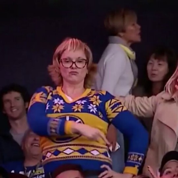 Warriors Have a Dance Cam Mom Battle
