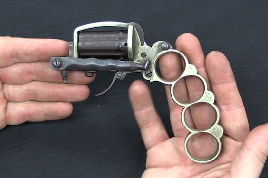 Checkout This Apache Knuckleduster Revolver