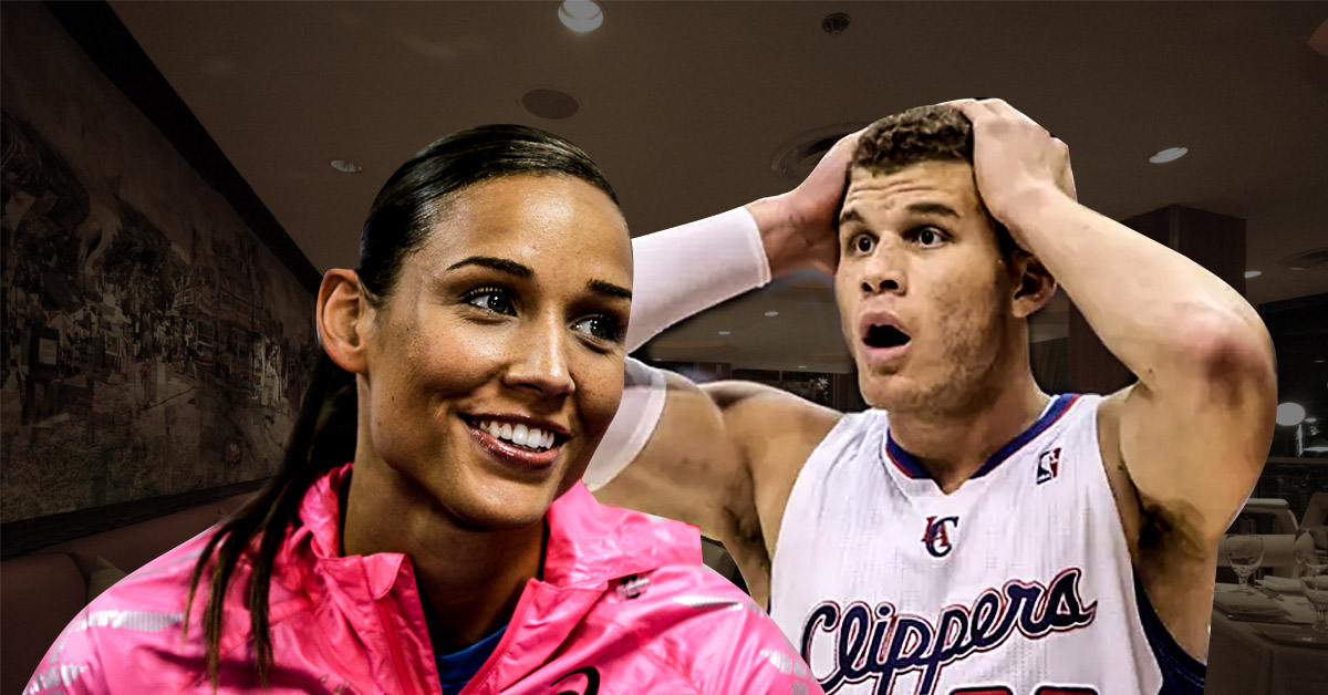 Lolo Jones' Kendall Jenner GIF in response to Blake Griffin Trade