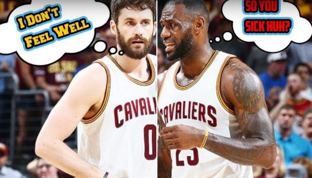 The Kevin Love Fake Illness is the Cavs Latest Excuse