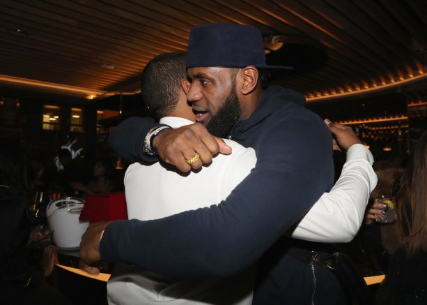 Lebron James Hosted Dwyane Wade's Birthday at Drake's New Pick 6ix Restaurant