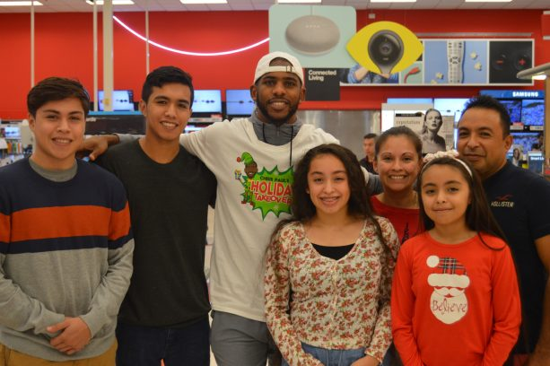 NBA STAR Chris Paul Gifted Local Teenage Girl