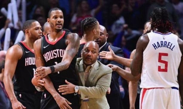 3 Rockets Went After Blake Griffin In The Locker Room