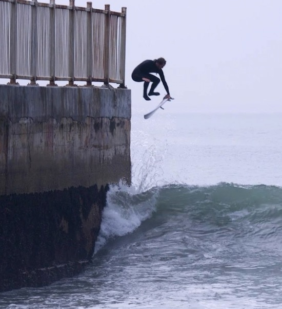 Cool Surf Video, It's Called An Acid Drop
