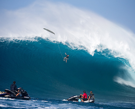 Surf Video- Jaws Handing Out Some Humble Pie