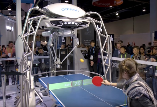 I Need This Robot Ping Pong Table Like Yesterday
