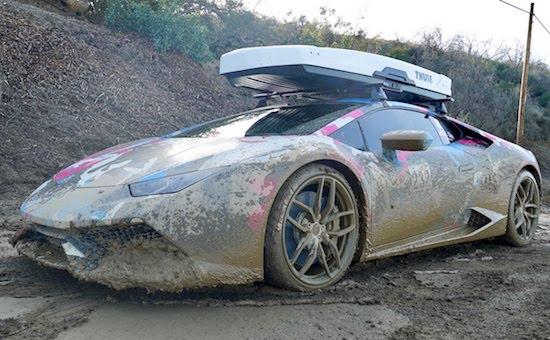 Video- Rich Dude Trashes His Lamborghini