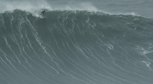 Surf Video- Tom Lowe Makes a Nazare Bomb, Then Cops a Brutal Flogging