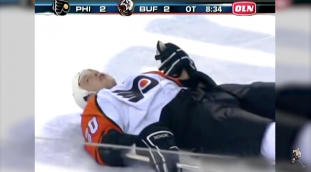 Video- The NHL Suicide Pass Video Will Make Your Bones Hurt