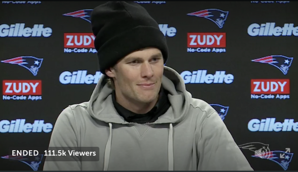 Video- Watch Tom Brady Dodge Injury Questions, With Gloves On