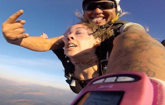 Video- When A Stranger On Venice Beach Asks YouTo Go Sky Diving