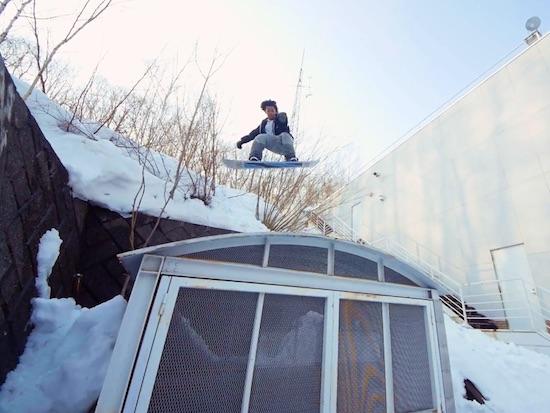 Snowboard Video- Say Hi To Masato Toda