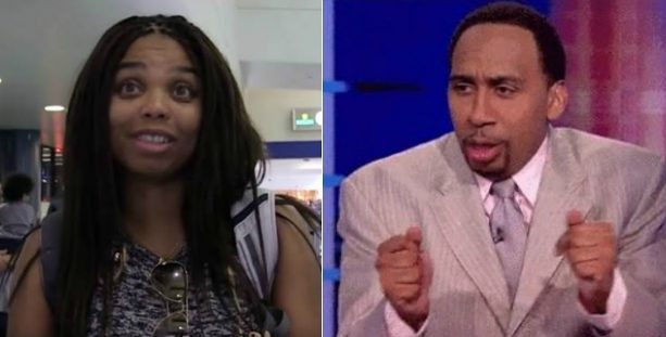 Stephen A. Smith Thinks Jemele Hill Should Stay in Her Lane