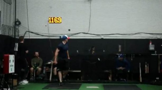 Watch: Player Throws Baseball 117 MPH