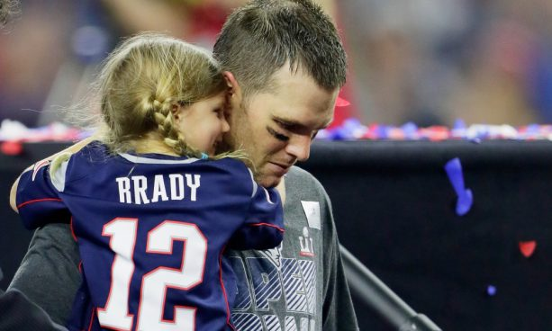 Tom Brady Cuts off Radio Appearance after his 5 Year Old Gets Reamed