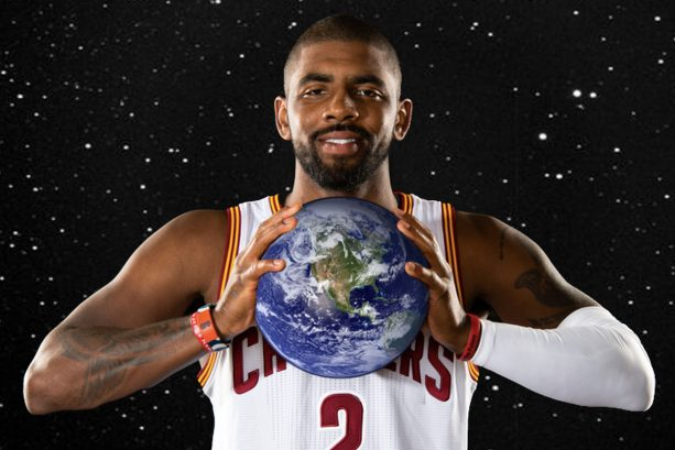 Once Again ask Kyrie Irving is Asked if the World is Flat; Hear his Answer