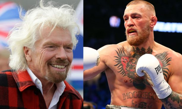 Richard Branson is a Crazy Fook to Go Shirtless with Conor McGregor