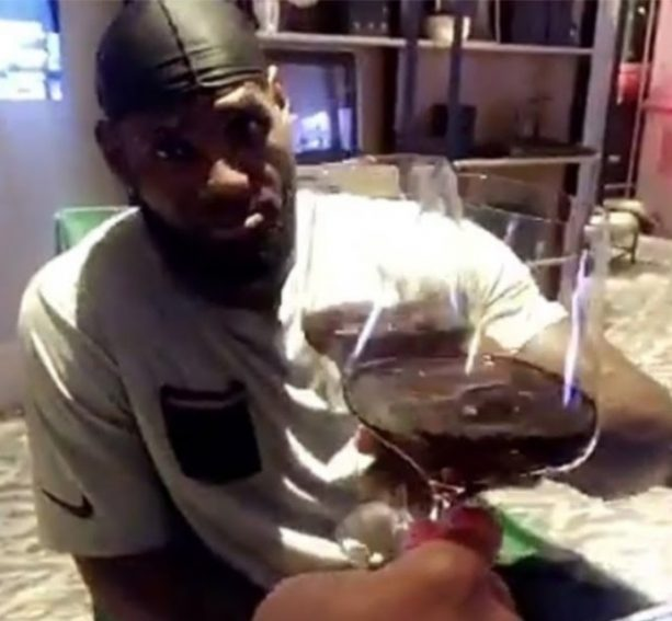 LeBron James Passion for Wine Has Spilled Over into Every Day Drinking