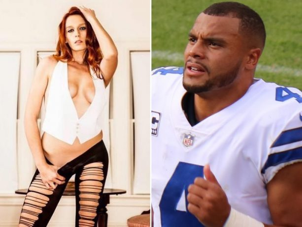 Dak Prescott Doing Some Spring Cleaning on the Internet