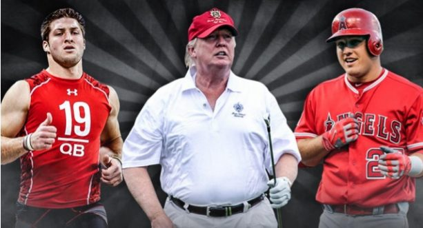 Trump is 6-3, 239 pounds, and Here are Some Athlete Comparisons