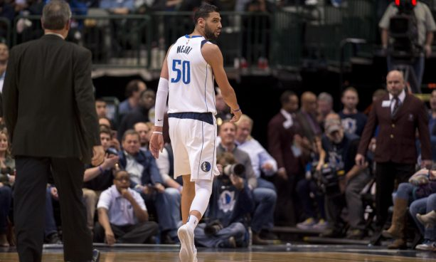 Salah Mejri Gets Ejected and Rick Carlisle Tells Him to get the F off the Court