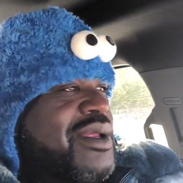 Shaq Ain't Feeling Snow in Atlanta