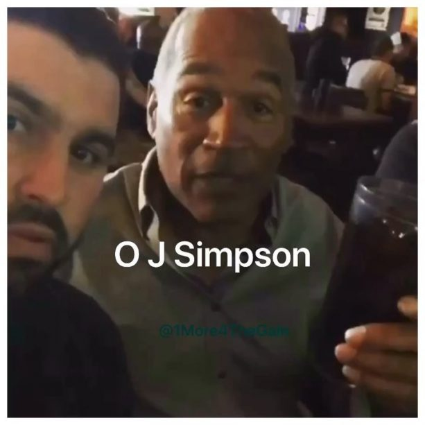 OJ Simpson Finally Says the Juice is Loose