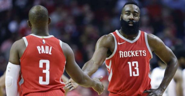 Best of James Harden Off the Dribble During the Rockets' 13-Game Win Streak