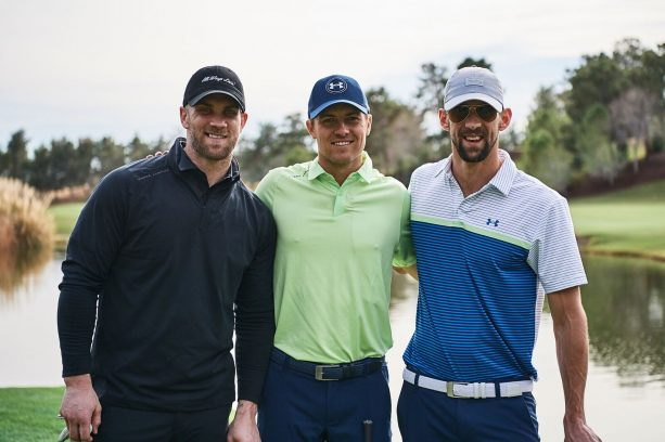 Under Armour Legends Play Golf and Explore the Vegas Strip