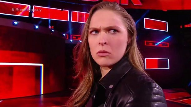 Ronda Rousey Slapped By Stephanie McMahon Like She's Back In The UFC