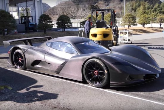 Video- Japan's $4.4 Million Dollar Street Legal Electric Hypercar