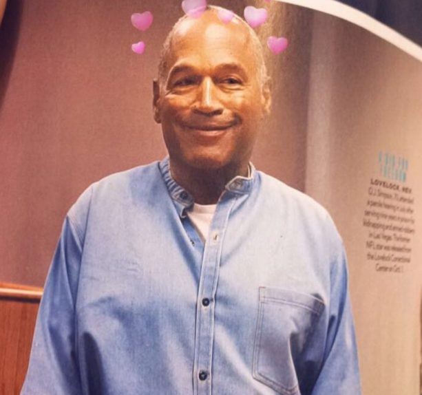 OJ Simpson is a Really Sweet Dude?