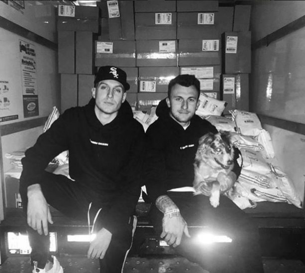 Johnny Manziel's Clothing Empire is Operating Out of a Garage and a Truck