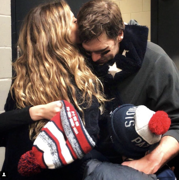 Gisele Shows Her Love For Tom On The Gram