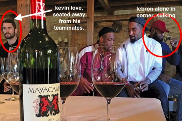 Cleveland Cavaliers Wine Conspiracy