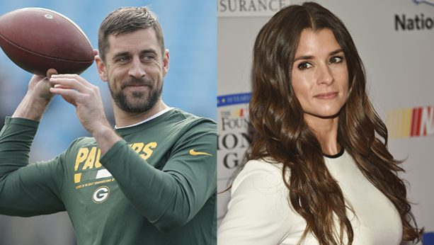Danica Patrick Demands Aaron Rodgers show up in Daytona for Valentine's Day