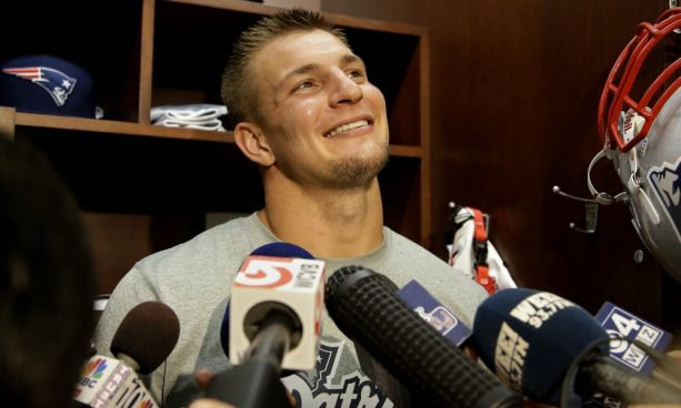 Patriots May Trade Gronk?