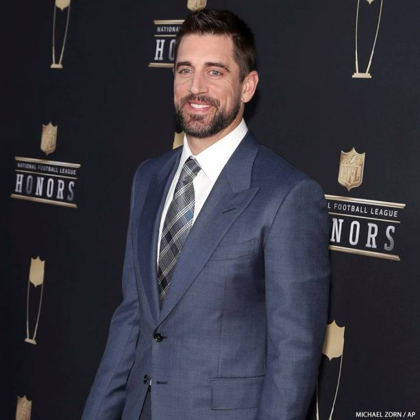 Aaron Rodgers Benched Danica Patrick for the NFL Honors