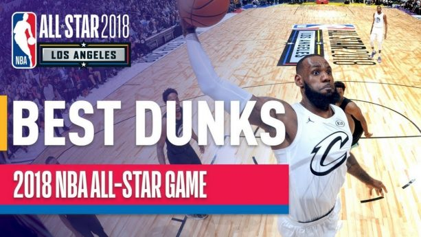 Video- EVERY DUNK from the 2018 NBA All-Star Game