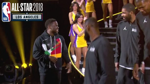 Kevin Hart's NBA All-Star Game introductions Were Painful to Watch