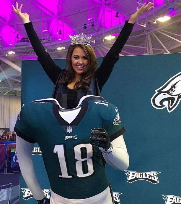 Miss America Sends her Congrats to the Eagles