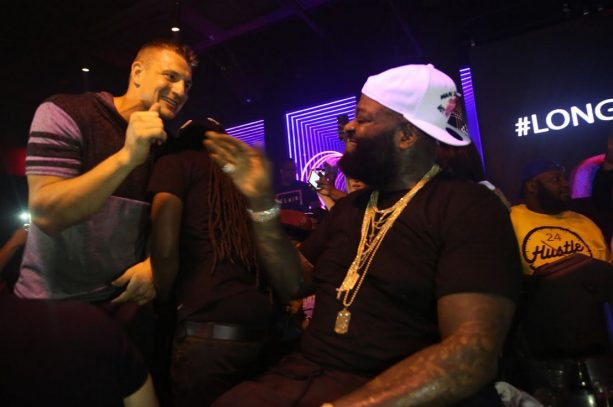 Gronk Parties and Dances with Rick Ross