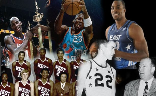 Video- The Evolution of NBA All-Star Uniforms