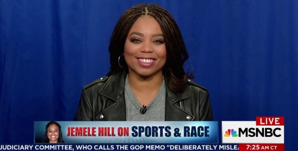 Jemele Hill's First Interview since Leaving SportsCenter on MSNBC