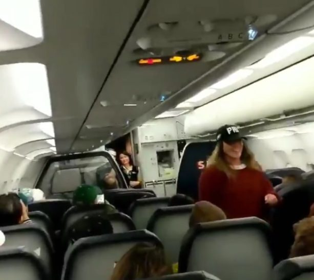 Flight Full Of Eagles Fans Sounds like a Nightmare