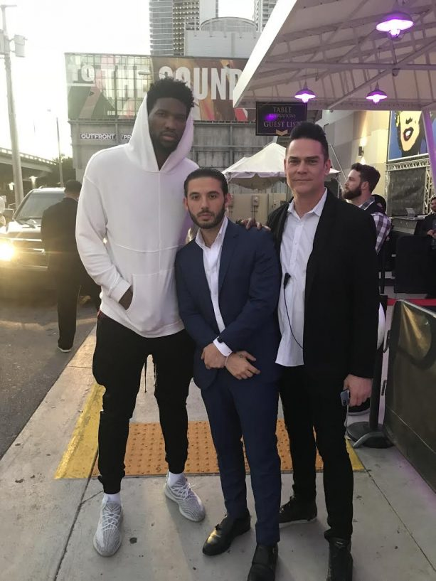 The Philadelphia 76ers Spotted at E11EVEN Miami