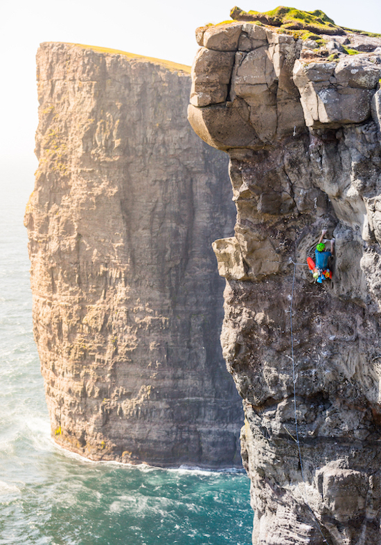 Checkout This Sketchy ClimbOn an island Faroe