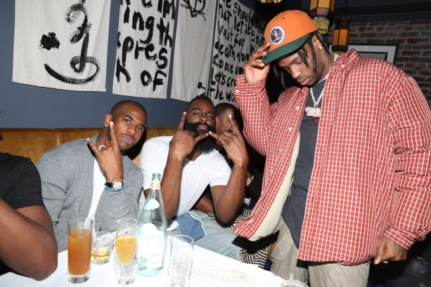 Drake, Chris Paul, James Harden, Etc. Enjoy D'USSE Dinner/Party