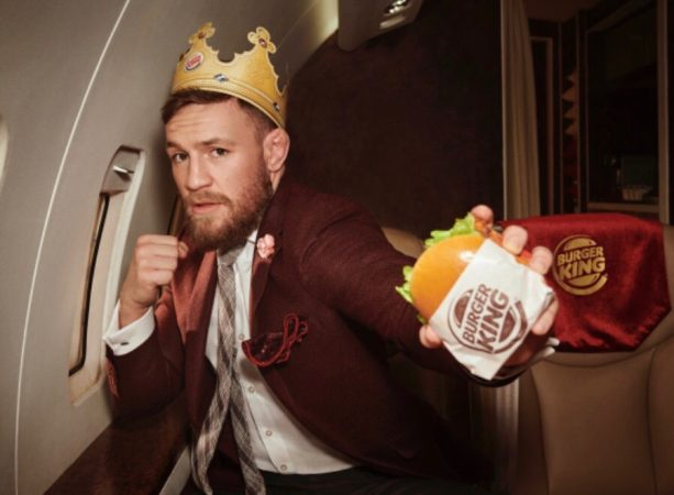 Video- Conor McGregor's Burger King Commercial